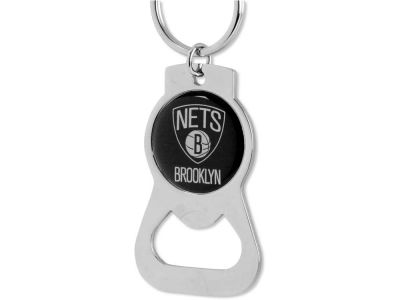 brooklyn nets aminco bottle opener keychain. Black Bedroom Furniture Sets. Home Design Ideas