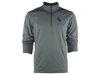 Colorado Rockies Nike Golf Mlb Men 39 S 1 4 Zip Therma Fit