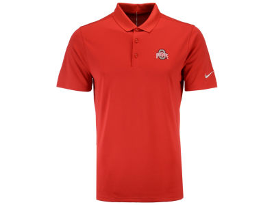 Nike ncaa men 39 s victory solid polo shirt apparel at for Ohio state polo shirt 3xl