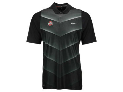 Ohio state buckeyes nike golf ncaa men 39 s max hypercool for Ohio state golf shirt