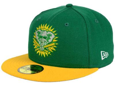 Oakland Athletics MLB Twist Up 59FIFTY Cap Hats