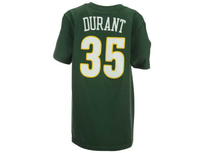 Seattle Supersonics Kevin Durant Adidas Nba Youth Name And