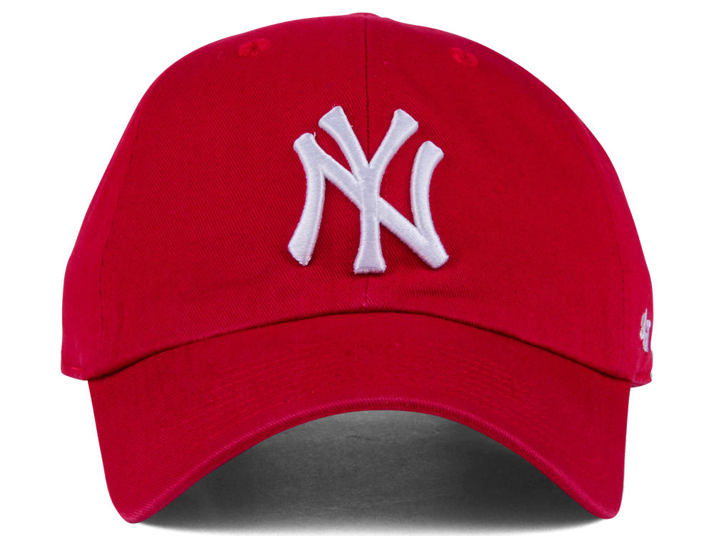 cheap for discount fc26b fa56a low-cost New York Yankees  47 MLB Core  47 CLEAN UP Cap