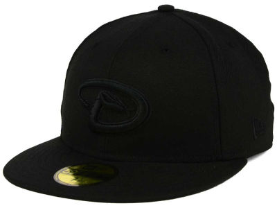 Arizona Diamondbacks MLB Triple Black 59FIFTY Cap Hats