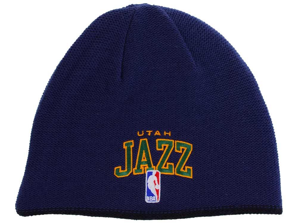 b137178eb8f ... cuffed knit hat fc290 4a04b  cheapest utah jazz reebok nba reversible  knit good f3ac5 2ac7b