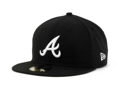 Atlanta Braves MLB B-Dub 59FIFTY Cap Hats