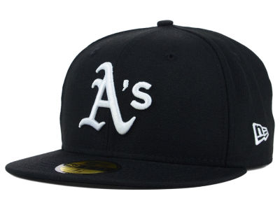 Oakland Athletics MLB B-Dub 59FIFTY Cap Hats