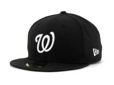 Washington Nationals MLB B-Dub 59FIFTY Cap Hats