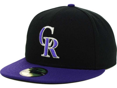 Colorado Rockies MLB XP Authentic Collection 59FIFTY Cap Hats