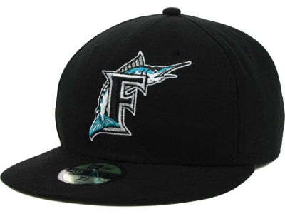 Florida Marlins MLB XP Authentic Collection 59FIFTY Cap Hats