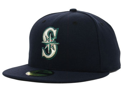 Seattle Mariners MLB Authentic Collection 59FIFTY Cap Hats