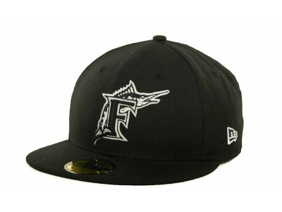 Florida Marlins MLB B-Dub 59FIFTY Cap Hats