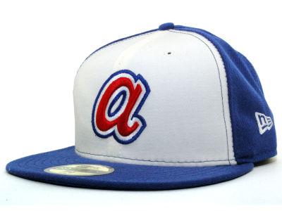 Lids Custom Hats >> Atlanta Braves New Era MLB Cooperstown 59FIFTY Cap   lids.com