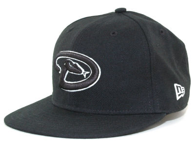 Arizona Diamondbacks MLB Black and White Fashion 59FIFTY Cap Hats