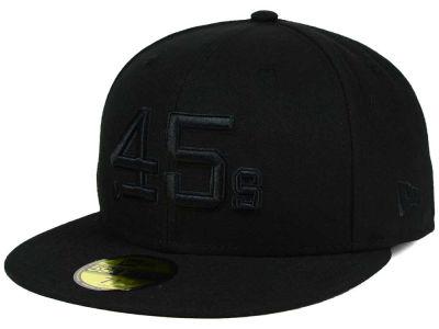 Houston Colt 45s New Era MLB Triple Black 59FIFTY Cap  d1fd4eca6b6