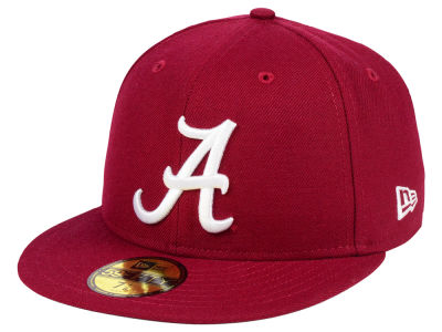 Alabama Crimson Tide NCAA AC 59FIFTY Cap Hats