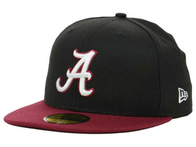 Alabama Crimson Tide NCAA 2 Tone 59FIFTY Cap Hats