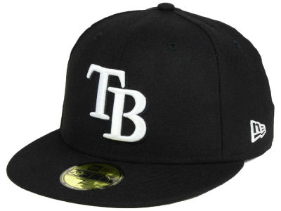 Tampa Bay Rays MLB B-Dub 59FIFTY Cap Hats