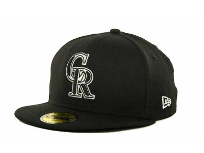 Colorado Rockies MLB B-Dub 59FIFTY Cap Hats