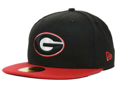 Georgia Bulldogs NCAA 2 Tone 59FIFTY Cap Hats