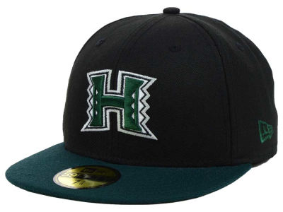 Hawaii Warriors NCAA 2 Tone 59FIFTY Cap Hats