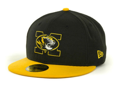Missouri Tigers NCAA 2 Tone 59FIFTY Cap Hats