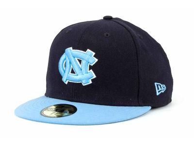 North Carolina Tar Heels NCAA 2 Tone 59FIFTY Cap Hats
