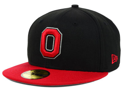Ohio State Buckeyes NCAA 2 Tone 59FIFTY Cap Hats