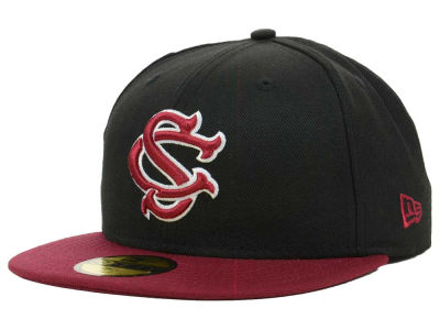 South Carolina Gamecocks NCAA 2 Tone 59FIFTY Cap Hats