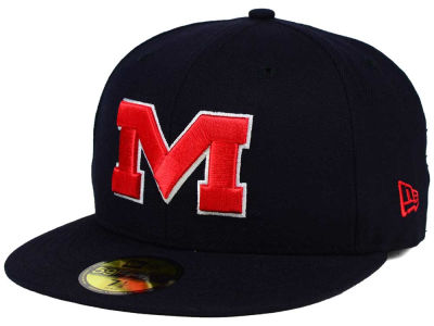 Ole Miss Rebels NCAA AC 59FIFTY Cap Hats