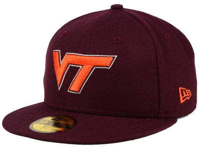 Virginia Tech Hokies NCAA AC 59FIFTY Cap Hats