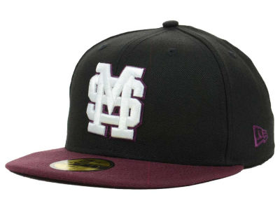 Mississippi State Bulldogs NCAA 2 Tone 59FIFTY Cap Hats