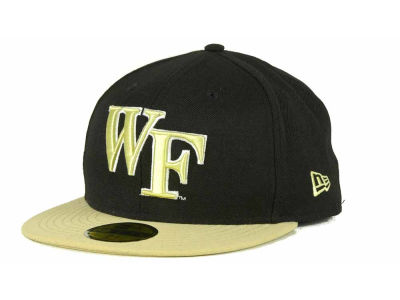 Wake Forest Demon Deacons NCAA 2 Tone 59FIFTY Cap Hats