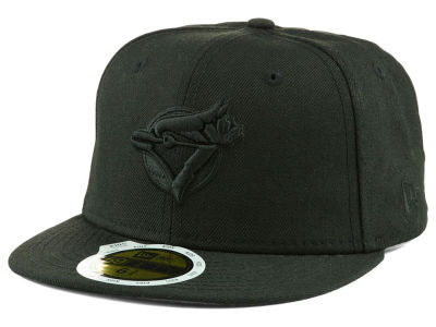 Toronto Blue Jays MLB Triple Black 59FIFTY Cap Hats