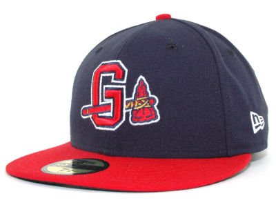 Gwinnett Braves MiLB AC 59FIFTY Cap Hats