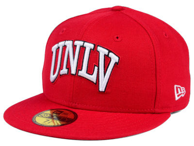 UNLV Runnin Rebels NCAA AC 59FIFTY Cap Hats
