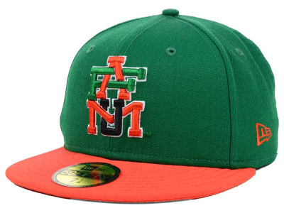 Florida A&M Rattlers NCAA 2 Tone 59FIFTY Cap Hats