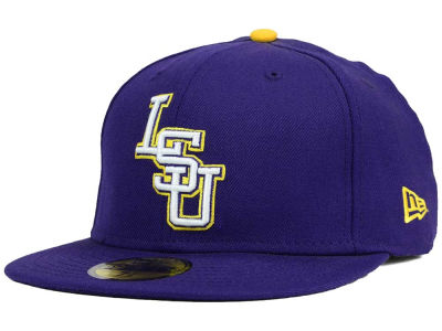 LSU Tigers NCAA AC 59FIFTY Cap Hats