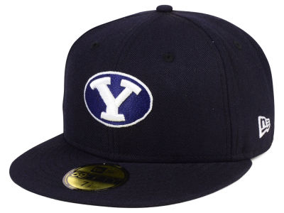 Brigham Young Cougars NCAA AC 59FIFTY Cap Hats