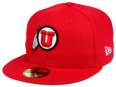 Utah Utes NCAA AC 59FIFTY Cap Hats