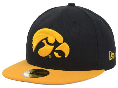 Iowa Hawkeyes NCAA 2 Tone 59FIFTY Cap Hats