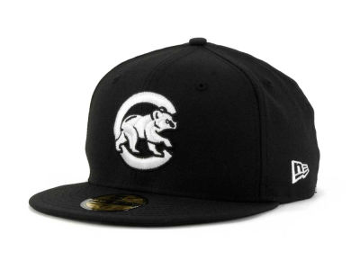 Chicago Cubs MLB B-Dub 59FIFTY Cap Hats