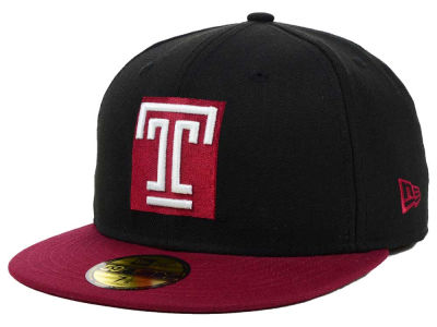 Temple Owls NCAA 2 Tone 59FIFTY Cap Hats