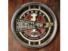 Purdue Boilermakers Chrome Clock Bed & Bath