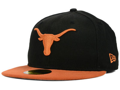 Texas Longhorns NCAA 2 Tone 59FIFTY Cap Hats