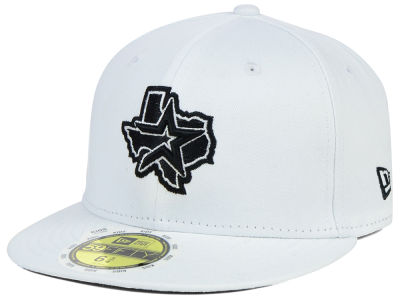Houston Astros MLB White And Black 59FIFTY Cap Hats