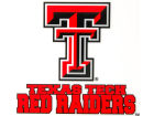 Texas Tech Red Raiders Rico Industries Static Cling Decal Auto Accessories