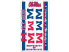 Ole Miss Rebels Wincraft Temporary Tattoos Gameday & Tailgate