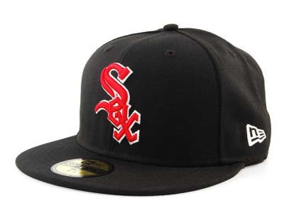 Chicago White Sox BR Stock 59FIFTY Cap Hats