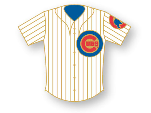Chicago Cubs Aminco Inc. Aminco Jersey Pin
